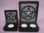 bougeoir pentacle
